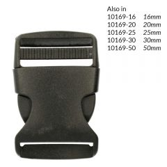 Side-release buckle 40mm - 10pcs
