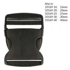 Side-release buckle 50mm - 5pcs