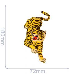 Iron-on patches tiger - 5pcs