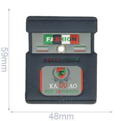 Label fashion collection 48x59mm blue - 5pcs