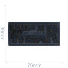 Label wear classic rectangle - 5pcs