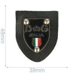 Label DG italia 39x48mm black - 5pcs