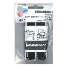 Velcro hook and loop tape self-adhesive 60cm - 5pcs