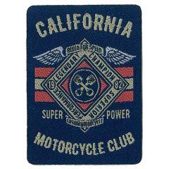 HKM Iron-on patch California motorycycle club - 5pcs