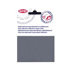 Opry Iron-on repair patch reflective - 5pcs