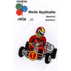 Iron-on patches Cart nr.1 - 5pcs