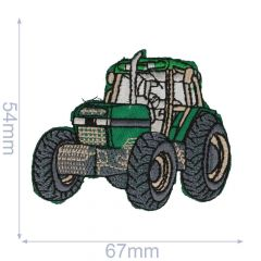 Iron-on patch tractor - 5pcs