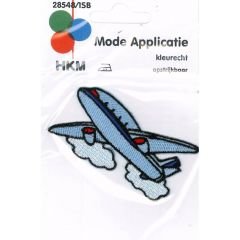 Iron-on patches Airplane - 5pcs
