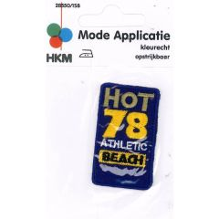 Iron-on patch hot 78 - 5pcs