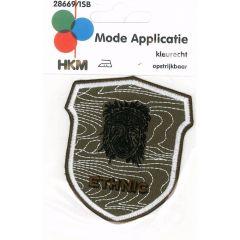 HKM Iron-on patch ethnic - 5pcs
