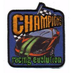 Iron-on patches CHAMPIONS - 5pcs
