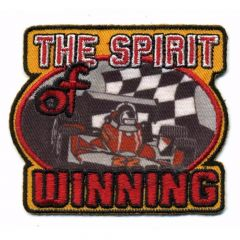 Iron-on patches THE SPIRIT OF WINNING - 5pcs
