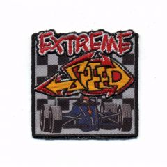 HKM Iron-on patch extreme speed 66x70mm - 5pcs
