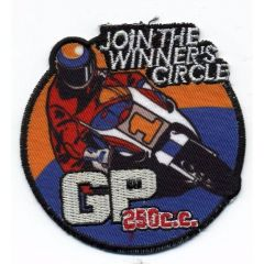 Iron-on patches GP 250cc - 5pcs