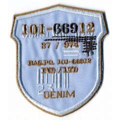 Iron-on patches 101-66912 DENIM - 5pcs