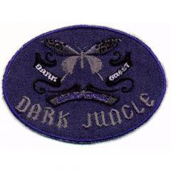 Iron-on patches DARK JUNGLE - 5pcs