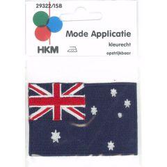 Iron-on patches flag Australia - 5pcs