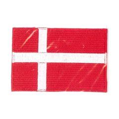 Iron-on patches flag Denmark - 5pcs