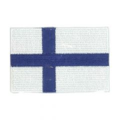 Iron-on patches flag Finland - 5pcs