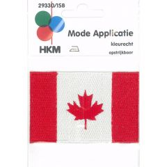 Iron-on patches flag Canada - 5pcs