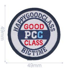 Iron-on patches GOOD PCC CLASS - 5pcs