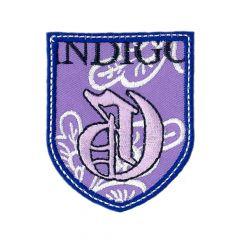 Iron-on patches INDIGO - 5pcs