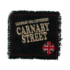 Iron-on patch carnaby street - 5pcs