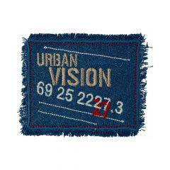 Iron-on patches URBAN VISION - 5pcs