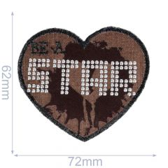 Iron-on patches STAR - 5pcs