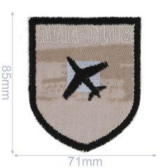 Iron-on patches Avia-Club - 5pcs