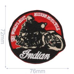 Iron-on patches INDIAN - 5pcs