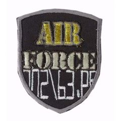 Iron-on patches AIR FORCE - 5pcs