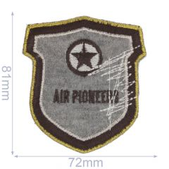 Iron-on patches AIR PIONEERS - 5pcs