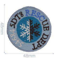 Iron-on patches S.D.T8 RESCUE DEPT - 5pcs