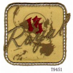 Iron-on patches Royal 13 - 5pcs