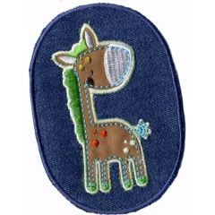 Iron-on patches horse - 5pcs