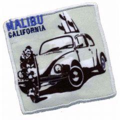 Iron-on patches Malibu California - 5pcs
