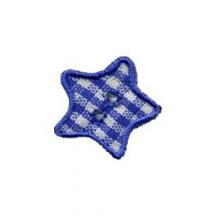 Iron-on patches stars set 3 pcs - 5 sets