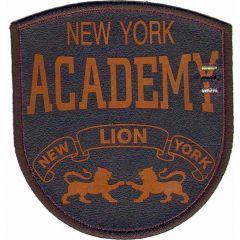 Iron-on patch New York Academy - 5pcs