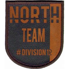 Iron-on patch north team - 5pcs