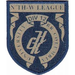 Iron-on patches THW league - 5pcs