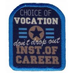 Iron-on patches Choice Of Vocation - 5pcs