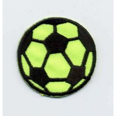 Iron-on patches football neon - 5pcs
