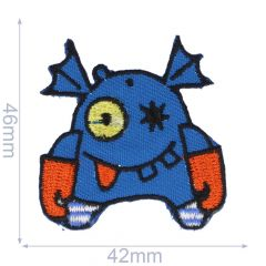 Iron-on patch monster - 5pcs