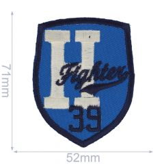 Iron-on patch highter - 5pcs