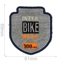 Iron-on patches Inter Bike - 5pcs