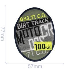Iron-on patches Motor - 5pcs
