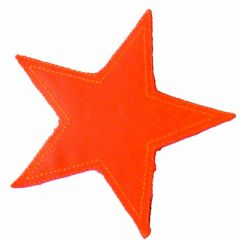 Iron-on patch star - 5pcs
