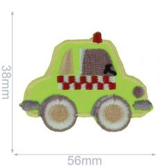 HKM Iron-on patch car - 5pcs