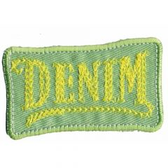 Iron-on patch denim large - 5pcs